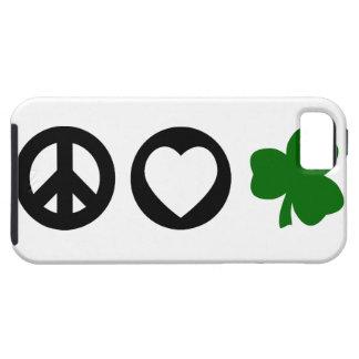 Peace Love Shamrock iPhone 5 Cases