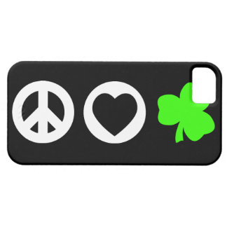 Peace Love Shamrock iPhone 5 Covers