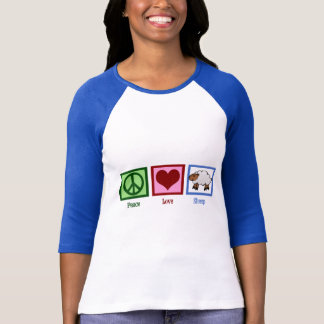 Peace Love Sheep T-Shirt