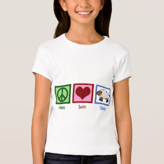Peace Love Sheep T-Shirt