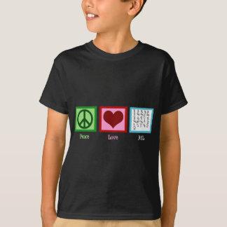 Peace Love Sign Language T-shirts