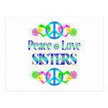 Peace Love Sisters Post Cards