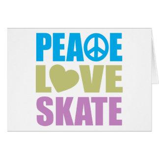 Peace Love Skate Cards