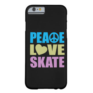 Peace Love Skate Barely There iPhone 6 Case