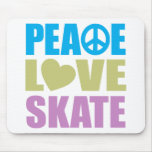 Peace Love Skate Mouse Mats