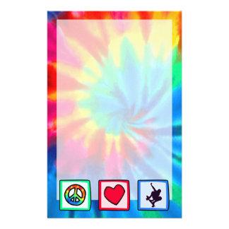 Peace, Love, Skateboarding Stationery