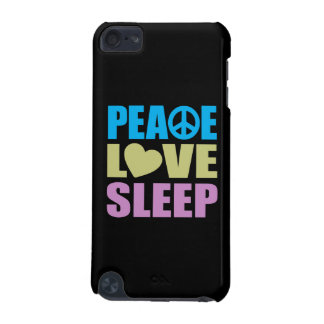 Peace Love Sleep iPod Touch (5th Generation) Case