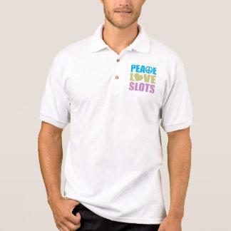 Peace Love Slots Polo Shirt