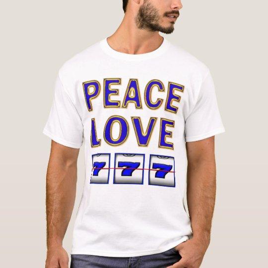 PEACE LOVE SLOTS T-Shirt