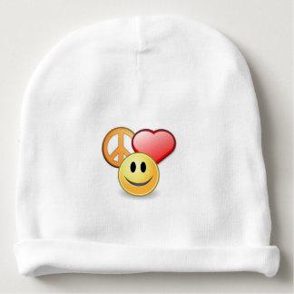 Peace Love smile Baby Beanie