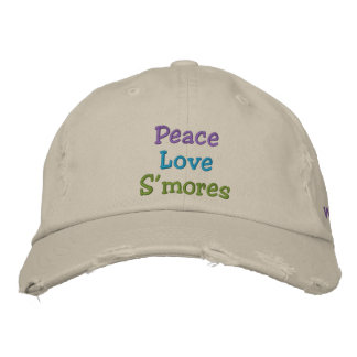 Peace Love S'mores Oil City, Washington Hat