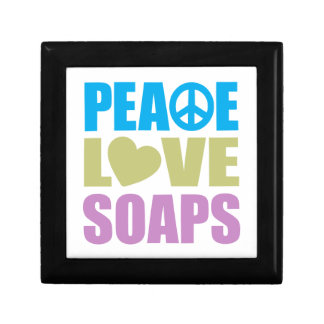 Peace Love Soaps Small Square Gift Box
