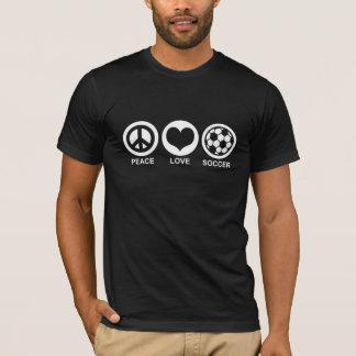 Peace Love Soccer T-Shirt