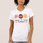 Peace Love Softball Tank Top
