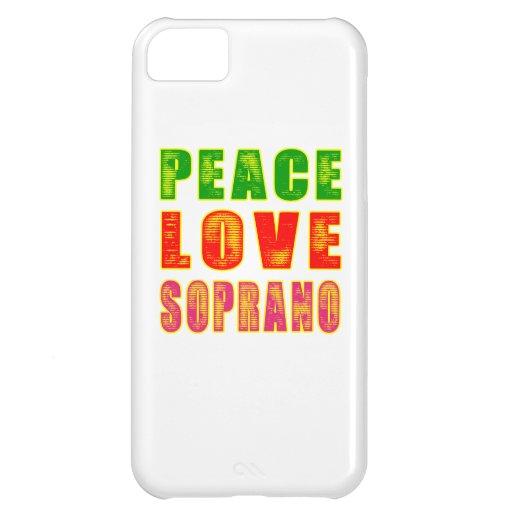 Peace Love Soprano iPhone 5C Cover