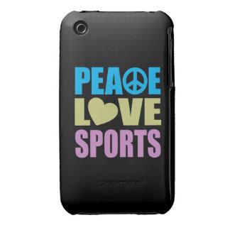 Peace Love Sports iPhone 3 Case
