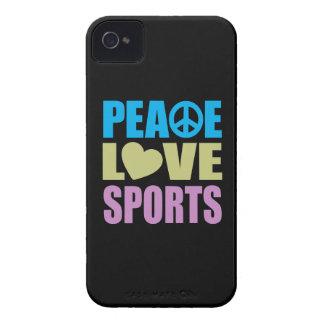 Peace Love Sports Case-Mate iPhone 4 Case
