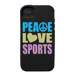 Peace Love Sports iPhone 4/4S Covers