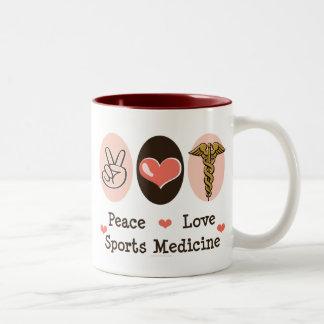 Peace Love Sports Medicine Mug