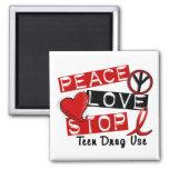 Peace Love Stop Teen Drug Use