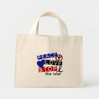 PEACE LOVE STOP The War T-Shirts & Gifts Bag