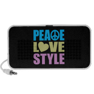 Peace Love Style Mini Speaker