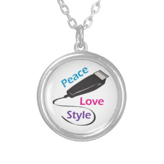 PEACE LOVE STYLE NECKLACE