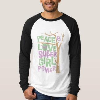 Peace Love & Supergirl Power T-Shirt