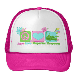 Peace Love Superior Firepower Hat