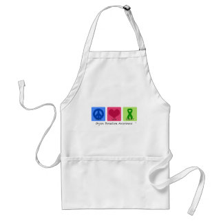 Peace Love Support Adult Apron
