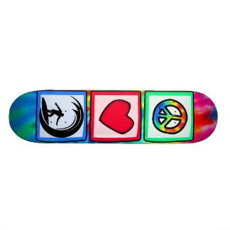 Peace, Love, Surfing Skate Board