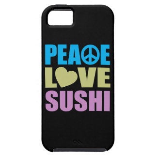 Peace Love Sushi iPhone 5 Covers