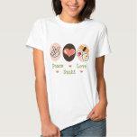 Peace Love Sushi T-shirt