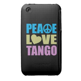 Peace Love Tango iPhone 3 Cover