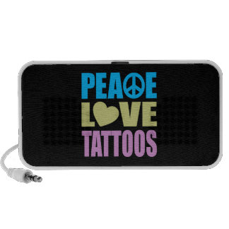 Peace Love Tattoos Speaker System