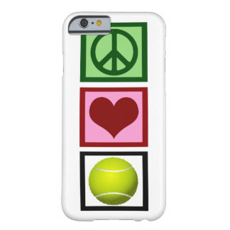 Peace Love Tennis Barely There iPhone 6 Case