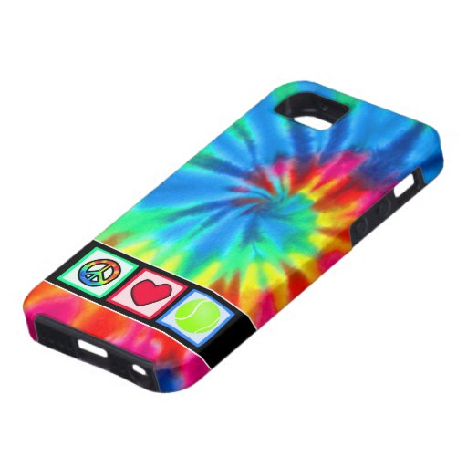 Peace, Love, Tennis iPhone 5 Covers