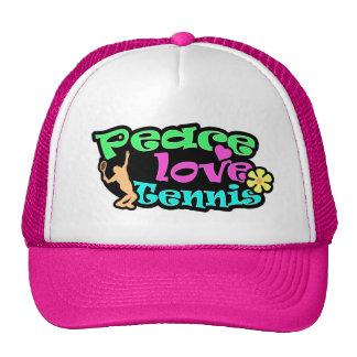 Peace, Love, Tennis; Retro Cap