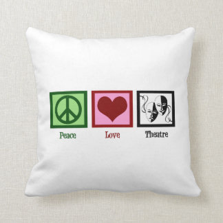 Peace Love Theatre Cushion