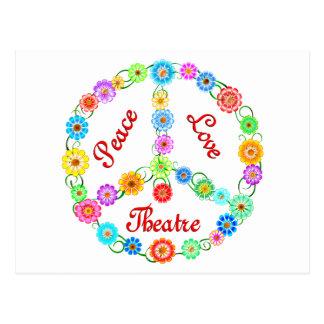 Peace Love Theatre Postcard