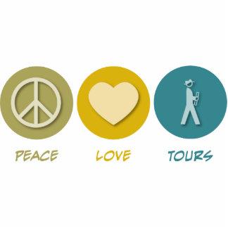 Peace Love Tours Photo Sculpture Decoration