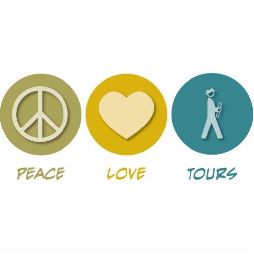 Peace Love Tours Photo Cutouts
