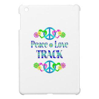 Peace Love Track Case For The iPad Mini