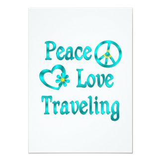 Peace Love Traveling Custom Invites