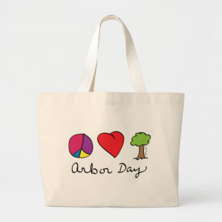 Peace Love Trees - Arbor Day Bag