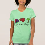 Peace Love & Trees - Arbor Day T Shirts