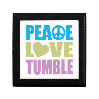 Peace Love Tumble Small Square Gift Box