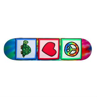 Peace, Love, Turtles 20.6 Cm Skateboard Deck