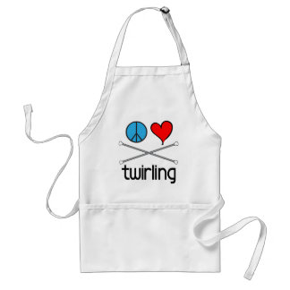 Peace Love Twirling Apron