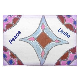 Peace Love Unity hakuna matata .png Placemat